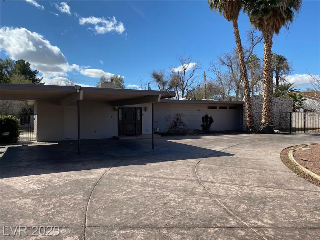 CALLING ALL REHABBERS/INVESTORS. SCOTCH 80'S BEAUTY WITH A TON OF POTENTIAL. THIS OLD SCHOOL VEGAS HOME WAS A FAVORITE HANGOUT OF SOME OF THE GIANTS IN ENTERTAINMENT. 4BD, HUGE LOT, POOL WITH DIVING BOARD, STORAGE OUTDOOR KITCHEN WITH FIRE PIT WITH GREAT SPACE FOR ENTERTAINING.