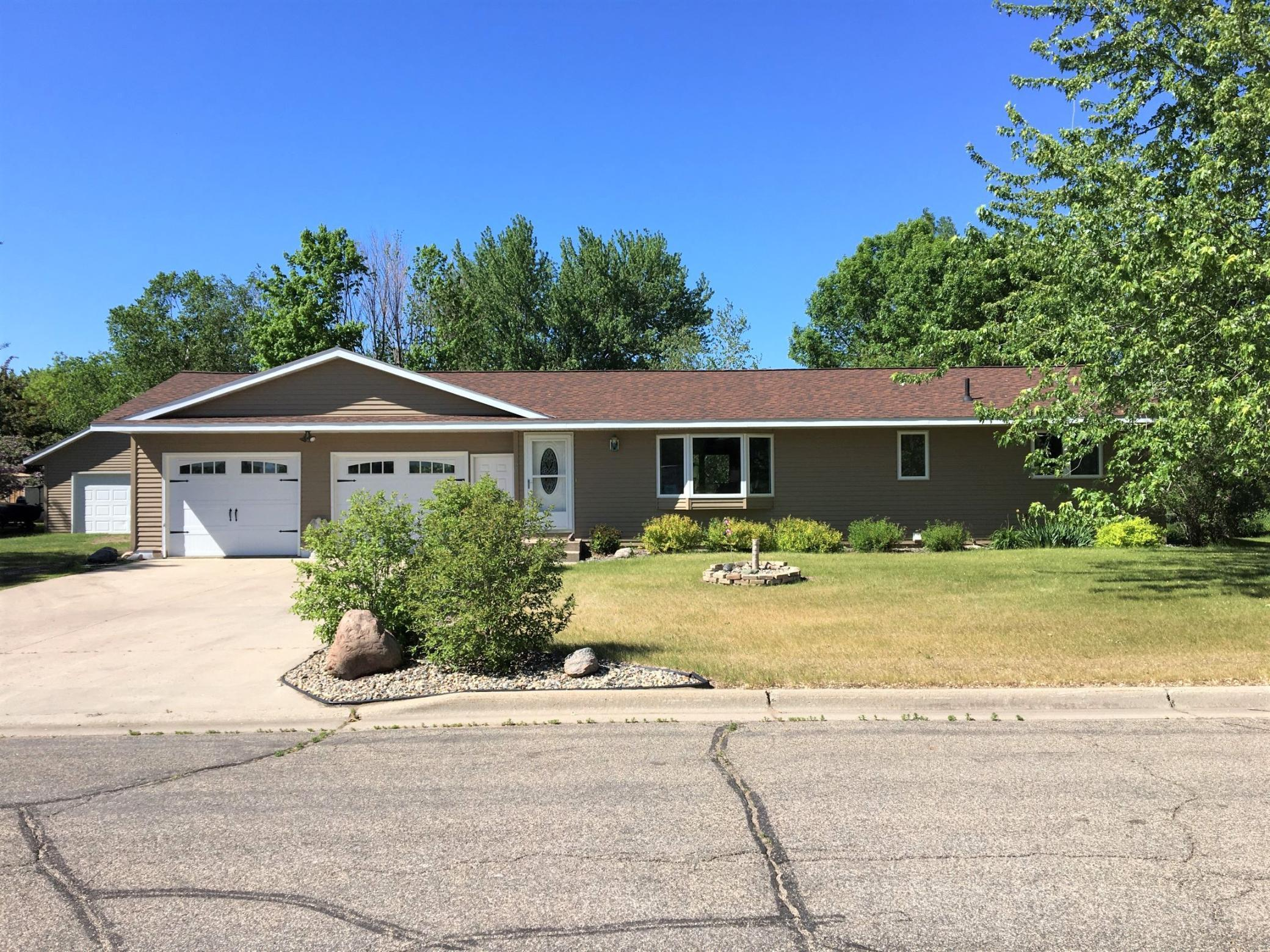 Must see this updated 4 bed,1.75 bath rambler with extra 26'x36' detached garage! Home features newer windows, shingles, siding & flooring. You'll love the fenced in back yard and extra storage shed! Located across the street from Hickman Park & Ashley Creek. (Buyers agent to verify all measurements/info.)