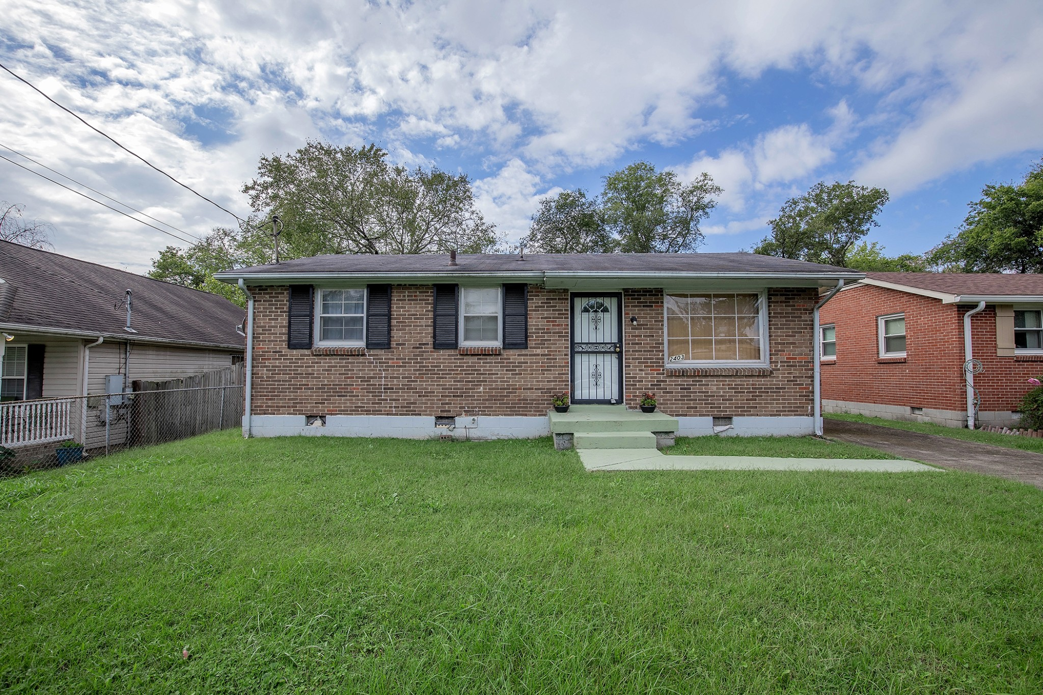 Charming home in North Nashville. Spacious fenced in backyard.  Minutes from the interstate, Germantown, and Downtown Nashville.  Home is in need of cosmetic updates.  Offers due Tuesday at 4:00 pm.