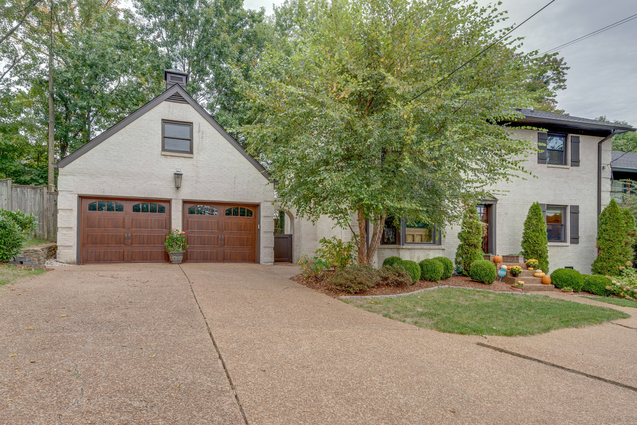 Welcome home to this renovated residence in the heart of West Nashville on a quiet cul-de-sac. Enjoy entertaining in your private backyard oasis with a built-in gas grill, fridge, television hookups, and more. Exceptionally maintained, tons of storage, 2-car enclosed garage, and features custom upgrades throughout including, custom kitchen island, new windows throughout, new tile and buildout in master shower, new lighting, and new HVAC systems. This home is truly one-of-a-kind!