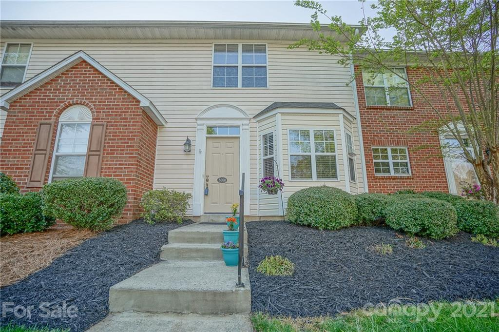 Very well maintained townhome to call home!  Park in one of the two reserved parking spaces. Dining area has natural light, laminate floor and a pass-through to the kitchen. Kitchen has refaced cabinets, tile floor and all appliances remain.  Laminate flooring in the hall leads to a spacious family room with laminate floor also that opens to the private patio area.  Patio has storage unit with shelves. The upper level has two master suites and a laundry closet (washer and dryer remain too!)  Carpets were professionally cleaned April 13th.  Seller had all popcorn ceilings removed and the HOA maintains the exterior.  Your buyers can move in and relax! MULTIPLE OFFERS RECEIVED - PLEASE SUBMIT HIGHEST AND BEST BY 9:00PM THURSDAY, APRIL 15TH!