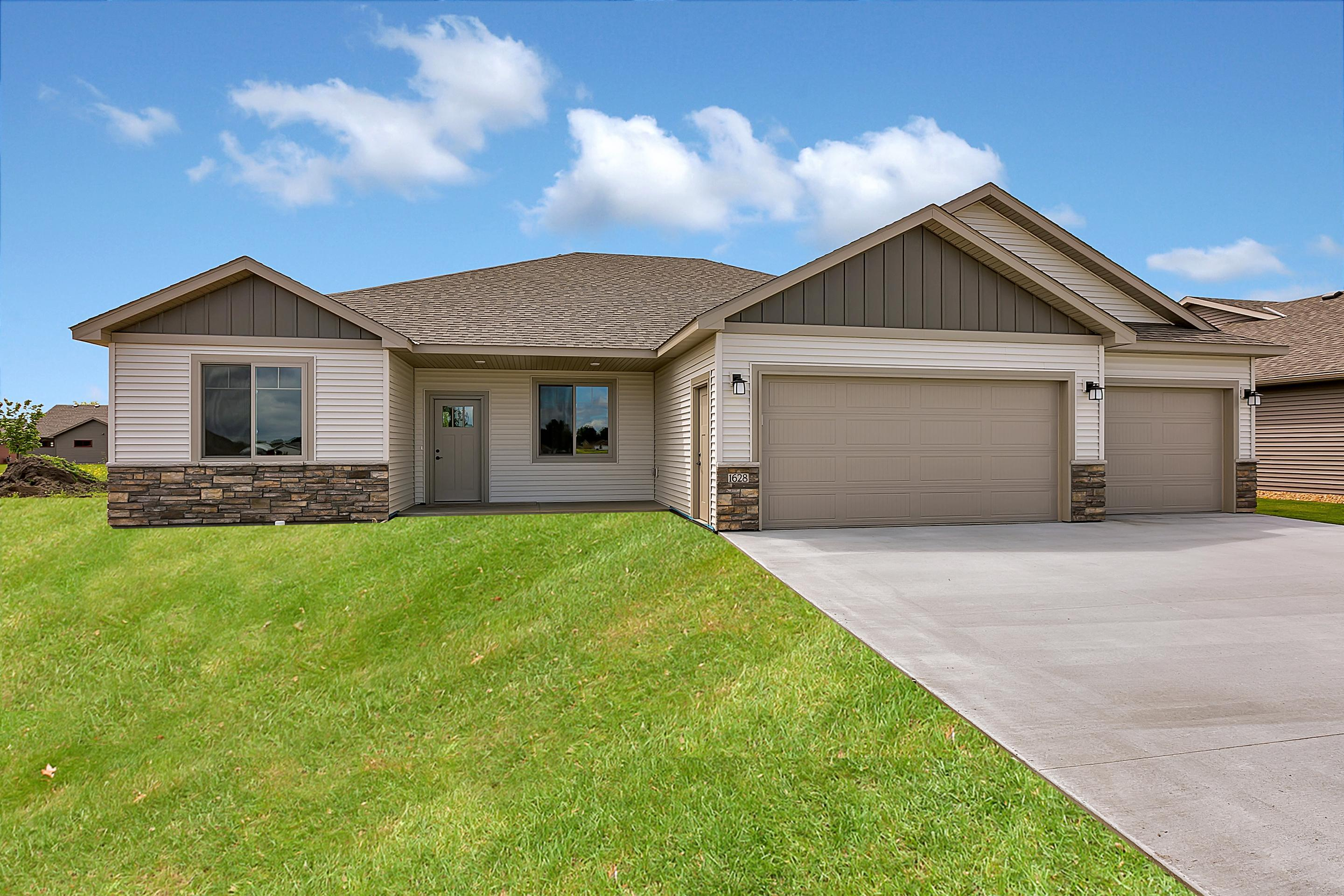 COMING SOON!  Under Construction!  3 BR, 2 BA patio home built by Woodland Homes. Live-in design w/3' wide doors, 9' ceilings, custom oak cabinetry, master suite with walk-in closet and tile roll-in shower, in-floor heat, electric fireplace with stone surround, granite counters & corner walk-in pantry in kitchen, Andersen windows, covered front and rear concrete patios. Association takes care of lawn maintenance & snow removal!