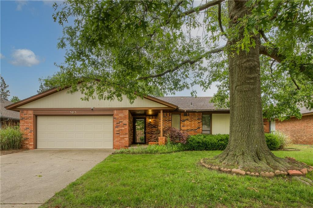 West side of Norman under 170k! Tons of potential with this 3 bed, 2 bath, 2 car oversized garage. Spacious living room with a cozy fireplace, large covered back patio to relax on with big back yard for you to enjoy. New roof and gutter are being installed. Seller to review all offers on Monday at 12:00pm.