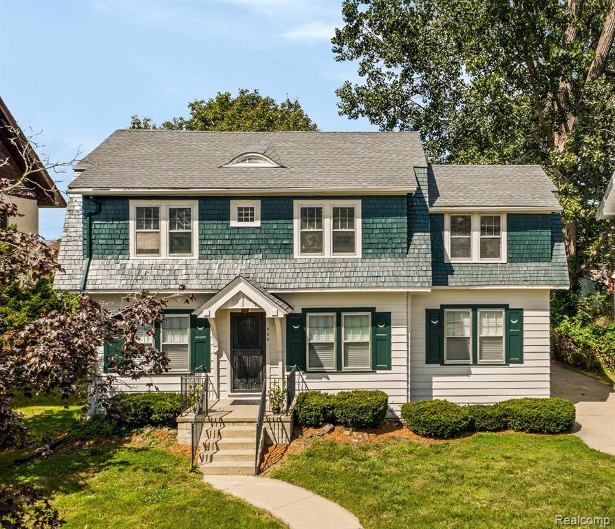 Vibrant Woodward Village Stunner! Lovingly renovated with respect to classic elements, this Four bed, two full bath Dutch Colonial dream is nestled on a quiet street near the heart of Boston Edison's Woodward corridor. Many original charming features remain, such as the exquisitely refinished hardwood floors, original windows & doors, built-ins, Pewabic tiled bathroom, formal dining room & more. Other features include beautiful quartz kitchen counters, new roof, fresh paint (interior & exterior) & updated main bathroom with an additional naturally sunlit room that can be used as a make-up vanity room, dressing room, or walk-in closet. Enjoy a warm fire in the natural fireplace perfectly appointed in the spacious great room. An invigorating bike ride to Midtown & Downtown shopping, museums & nightlife. Additional updates include, brand new forced air heating & central cooling systems on each level for efficiency & comfort. Must see for yourself! Schedule your showing now!