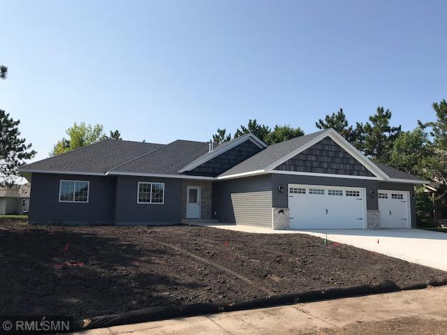 Just completed attractive four bedroom, four bath rambler with 2400 sq. ft. finished. Custom cabinets. Master bedroom suite. Walk-in closets. Main floor laundry. Triple garage. Vinyl siding and brick.