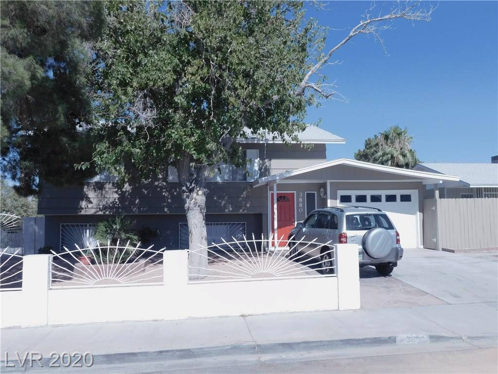 NICELY REMODELED 4 BEDROOM HOME NEW PAINT AND FLOORING THRU OUT, KITCHEN WITH GRANITE COUNTER W/ EATING NOOK, MASTER BEDROOM AND LIVING ROOM UPSTAIRS, 3 BEDROOM AND FAMILY ROOM DOWNSTAIRS,HUGE REAR YARD, PATIO DECK OFF KITCHEN ,STORAGE SHED,TREES AND SHRUBS, DESERT LANDSCAPE 1 CAR GARAGE . ALL APPLIANCES STAY