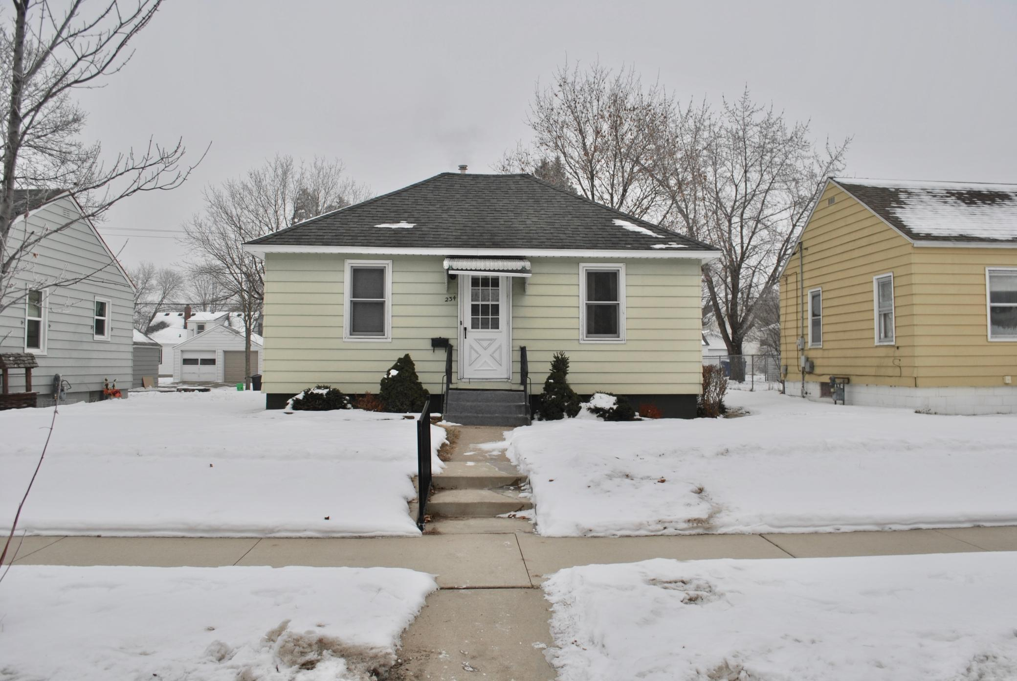 Opportunity for the investor or Handyman! 2 bedroom, 1 full bath, 1 story home with newer windows.  Maintenance free siding, Central Air, Updated Electrical and a 2 stall detached garage. Not far from convinces and bus line.
