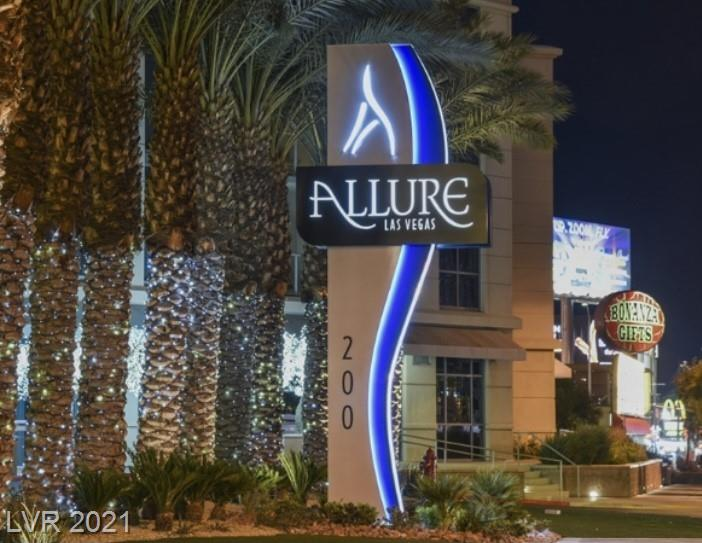 Amazing  Condo in the Allure. Live on Las Vegas Blvd. Close to Casinos, restaurants, shopping, concert venues, Raiders and T-mobile stadium. ( home of the Golden Knights) This 2 bedroom condo has it all, Stainless appliances. Beautiful wood flooring that look new. Master bath has oversized tub and separate shower.The views from every floor to ceiling window are of the Las Vegas Strip! Views Views Views