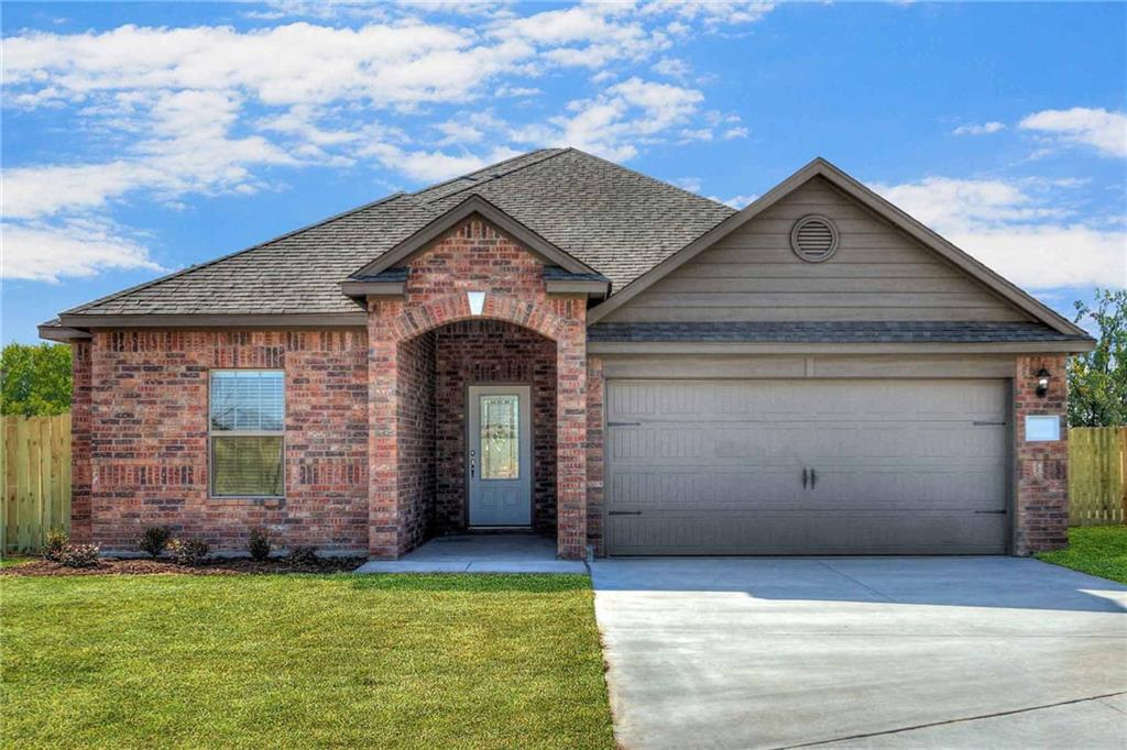 The Erie plan at Brookstone Lakes West is a quality built LGI Home with over $15,000 in upgrades. This new one-story dream home features an open floor plan with 3 bedrooms and 2 full baths. Interior features include stainless steel energy efficient kitchen appliances, granite countertops, designer wood cabinets and brushed nickel hardware. The Erie showcases a grand master suite with large walk-in closet as well as a fully fenced backyard and covered patio.