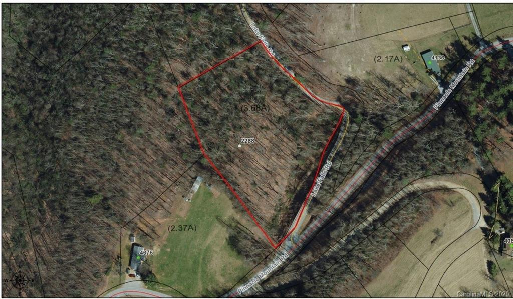 Affordable acreage in convenient location! Located at the intersection of Pinnacle Mtn. Road and Lake Falls Road, this 4.43 acre lot is easily accessible as a culvert has already been installed for easy access to future building site. Additionally, city water is available. Come take a look today!