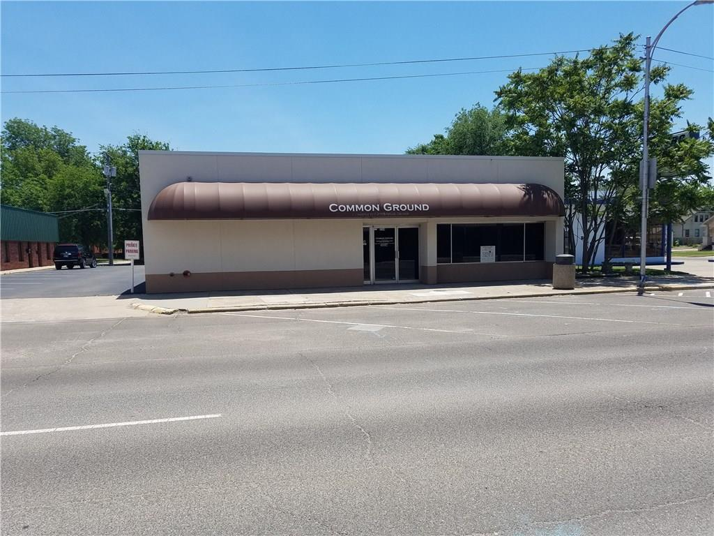 This listing is for the combination of both the building at 324 W. Main (Common Ground Bldg) and 4 residential lots (R-3) located at 319 W. Comanche, said lots being behind across the alley from the building. Property can be sold separately, but the building must sell and close first. Building is located in the downtown area of Norman, about 4 blocks West of the railroad tracks and is zoned C-3. It was last used as a Youth Ministry Building. It could be used for a wide range of business from office space to retail.