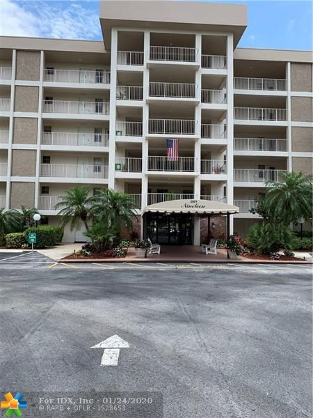 Turnkey furnished Palm Aire PENTHOUSE.  Assigned parking spot right in front of the building.  Split bedroom plan with en suite bathrooms.  Very nice City and Palms golf course views.  Tons of closet space and a storage locker, too.  Monthly association fee is $358.33 which includes basic cable, water, trash, plus building insurance and a reserve fund.  Secure building with community laundry, 2 pools with a gazebo plus grills. Association requires 20% downpayment on contract. Buyer to sign FIRPTA addendum.  Palm Aire is a golf community without the country club fees.  Palm Aire is close to the beach where the Pompano Pier was redone with new restaurants.  Shopping, entertainment, transportation, and The Isle Casino are all nearby.