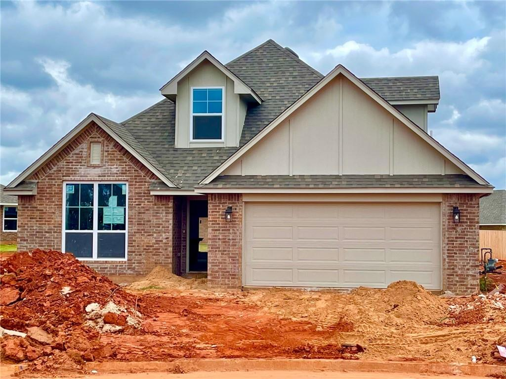 Ask about the estimated completion date! The Grove Community has tons of activities for you to enjoy: three resort style pools, two clubhouses, two fitness centers, miles of paved walking/running/biking trails, treehouse park, soccer field, basketball court, stocked lakes and ponds, and an on-site Elementary School that is part of the top scoring Deer Creek School District. This home checks off all the boxes! This beautiful 2,440 square-foot home has a wonderful kitchen that includes: Samsung stainless steel appliances, 3cm quartz or granite countertops, a farm sink, under cabinet lighting, LED lights in the ceiling, and on and on. The living room has a fantastic wood and slate fireplace. You will find 10-foot ceilings throughout the main areas and the master bedroom, giving a nice airy feel. The master bedroom is very large and comes with a master bathroom with a door-less walk-in shower, a two-sink vanity and a garden tub.