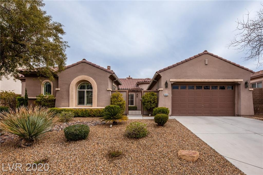 Gorgeous home behind the gates of Edinburgh, premier gated community in Anthem Highlands featuring trails, parks, and desirable schools. Premium lot is over a quarter acre with a sparkling pool, relaxing spa, and tranquil rock waterfall. Peaceful gated courtyard with cozy fireplace. Upgrades include granite, premium appliances, tumbled edge tile, plantation shutters, deco paint, ceiling fans, garage cabinets, water softener, and solar pool heat.