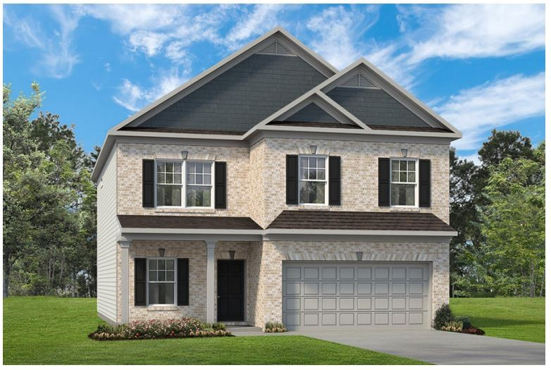 The Buffington Plan by Smith Douglas Homes in Nichols Vale, Mt. Juliet! Our top-selling plan, the Buffington delights with its massive second-floor owner's suite privately tucked away on the same level as its three additional bedrooms.  Unexpected luxuries on the first floor include a half bath, planning desk and kitchen island open to the family room.  Plus a main floor den/office/dining room!.