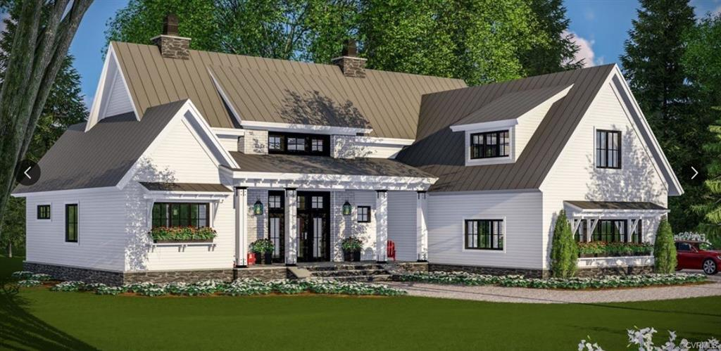 Custom Home by River City Custom Homes feature first floor master.