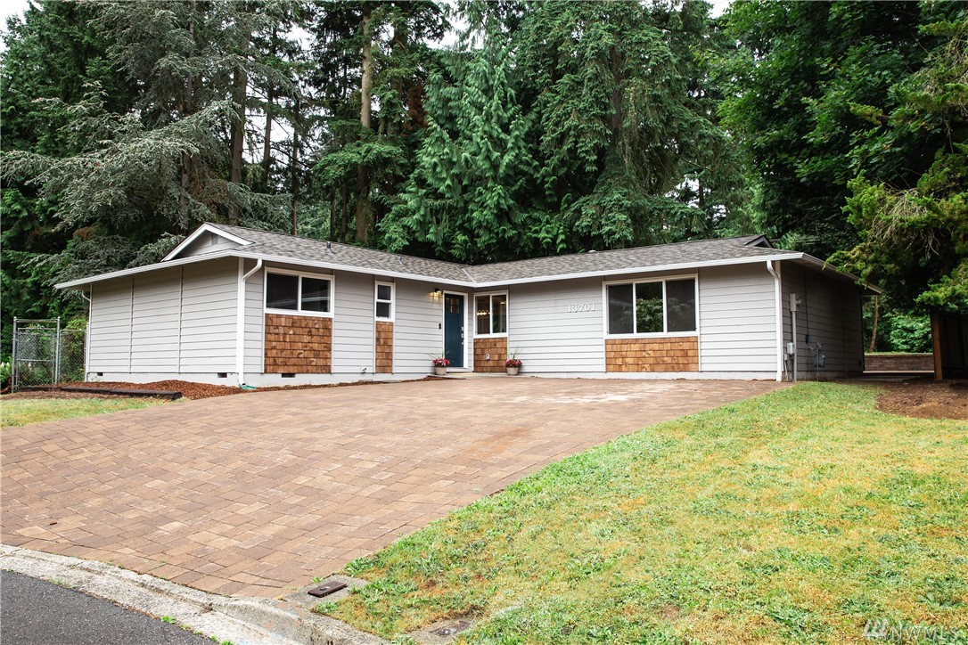 Amazing remodeled rambler on a HUGE lot in Rose Hill. Perfect location, easy commute to Bellevue, Kirkland & in Lake Washington school district! Light and bright, this rambler really shines, nearly everything is new. Electrical all new with smart lighting and cat-6 cabling, kitchen with quartz counters and new appliances, bathrooms, roof, waterproof Luxury Vinyl Plank floors, new insulation, fresh paint inside & out. You must see to believe the size of the back yard, massive for the location.