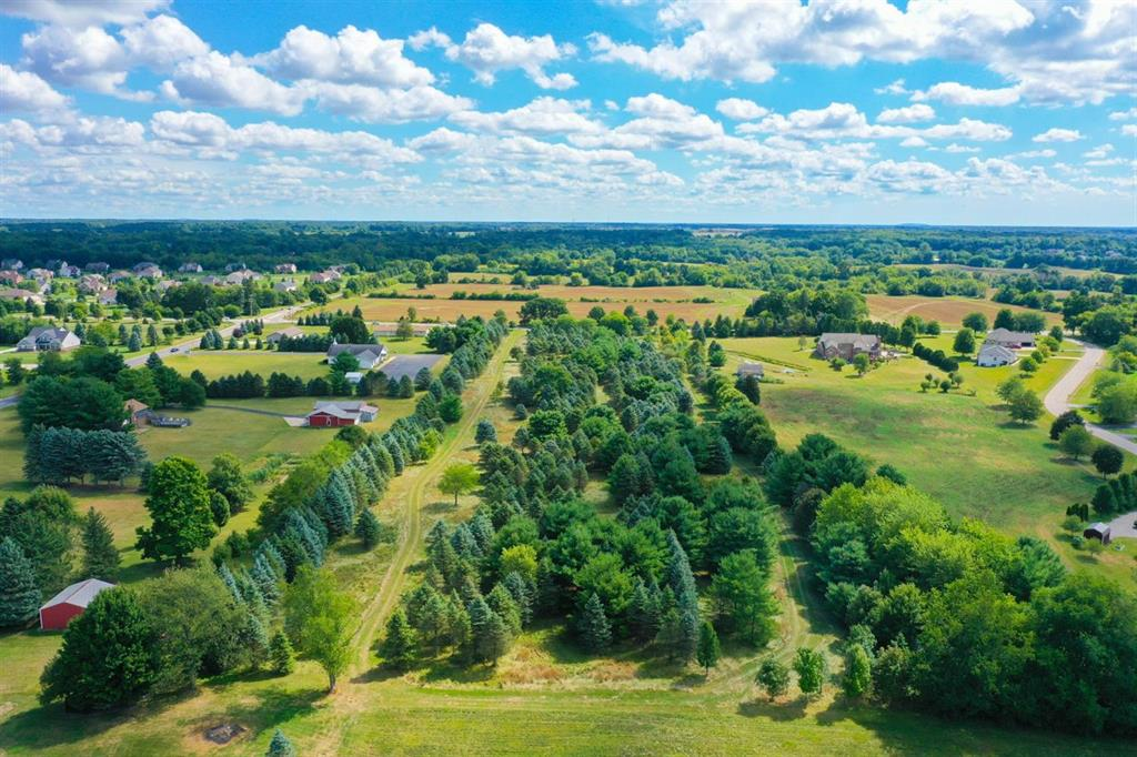 Beautiful private home building site.  Saline Schools. Former tree farm with over 500 trees on 10 acres. Paved road.  Rolling terrain that  would be perfect for lower level walk out. Property has been approved by Washtenaw County for an onsite septic system.  Centrally located to US 12, US 23 and I-94, Saline, Ann Arbor  Detroit Metro Airport, Detroit, and Toledo.