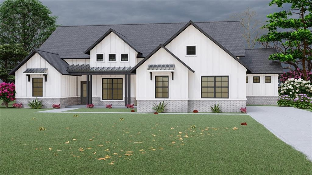 ***Don't miss this!*** Almost a whole acre of MODERN FARMHOUSE STYLE in Windmill Farms in Deer Creek Schools! Beautiful Aspen floor plan! This home is 4 bedrooms (or 3 with a study), 2.5 baths, with a 3 car side entry garage. Upon entering the home you walk through the foyer into the open living room and kitchen. The master suite features separate double vanities, jetted tub and custom tile walk in shower. The spare bedrooms each have large walk in closets and a shared bathroom. This home is a must see. Make your appointment to see this stunning home today!