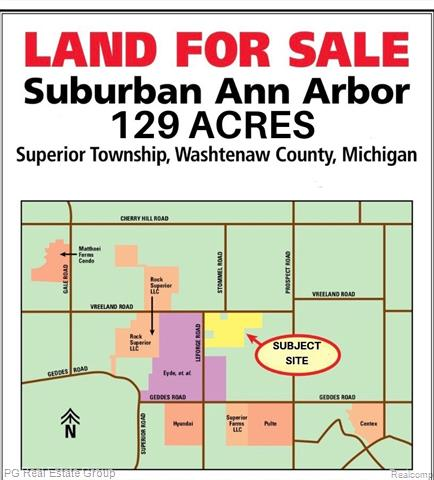 Located in the highly desirable Superior Township. 