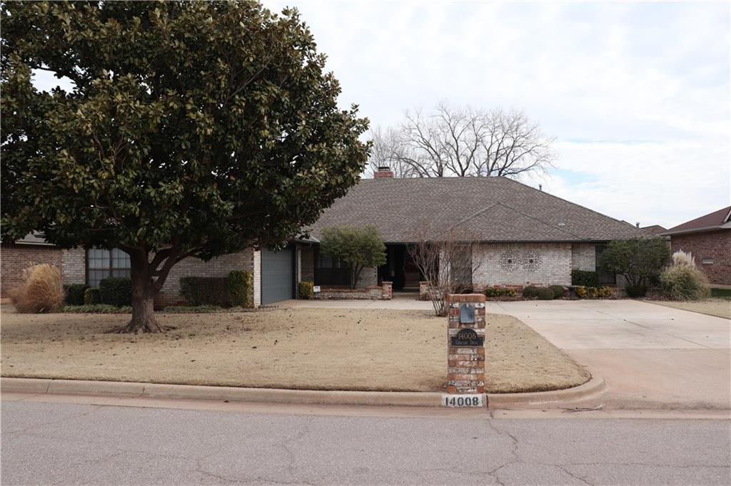 This beautiful 3 bed, 2.1 bath, 2600 square feet home within Edmond School District has been lovingly cared for and well maintained! The living room offers high ceilings and a large brick fireplace. There is also a bonus room with built ins off the living room that could be used for an office. There's even a bar! The kitchen offers granite countertops, an island, and newer appliances. Large master bath with double vanities and two walk in closets. The beautifully landscaped backyard has two covered patios and a HOT TUB! The roof, kitchen, carpet, and a/c units were all updated in 2014. Hot water heater's were both updated in 2017. Home is being sold AS IS! This home even has a sprinkler system and offers quick access to turnpike, restaurants, shopping and entertainment. Call to schedule you private showing today!!