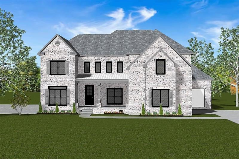 New 5 bedroom home across from entrance to Westminster Nature Trail. Ready Spring 2019! Gracious estate home on half acre with walk out back yard from main level. Quiet cul-de-sac street in the middle of Buckhead's sought-after Morris Brandon school district. Gourmet kitchen with top-of-the-line appliances. Foyer, living room, kitchen & breakfast area plus covered back deck with fireplace. Luxurious master suite is upstairs along with another 3 bedroom suites and a huge central second floor family room. Beautiful millwork throughout. Partially finished daylight basement