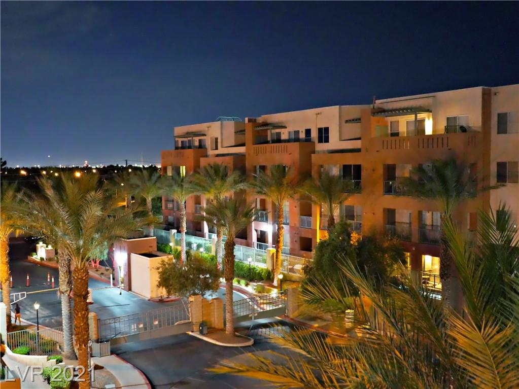Location, location, location!! Near Las Vegas Strip, only minutes away from RAIDER STADIUM.  This 2 bed 2 bath condo has much to offer.  Open floor plan, granite countertops, balcony overlooking the nearby clubhouse, and tennis court.  This condo is conveniently located to all nearby community amenities.