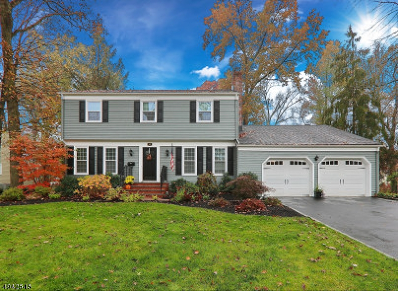This beautiful Center Hall Colonial offers formal Living Room, Dining Room, Eat in kitchen w/ large walk in pantry, add'l informal eating area w fireplace & Hardwood floors throughout. 1st floor family room has adjacent full bath, fireplace, view of large backyard with in ground pool & can be used as an in-law suite with large adjacent mudroom to outside & garage, 1st floor laundry room completes this level. 2nd floor includes 4 spacious bedrooms including master en suite, updated bathrooms, all freshly painted & new carpet. This fine home is move in ready & should not be missed!