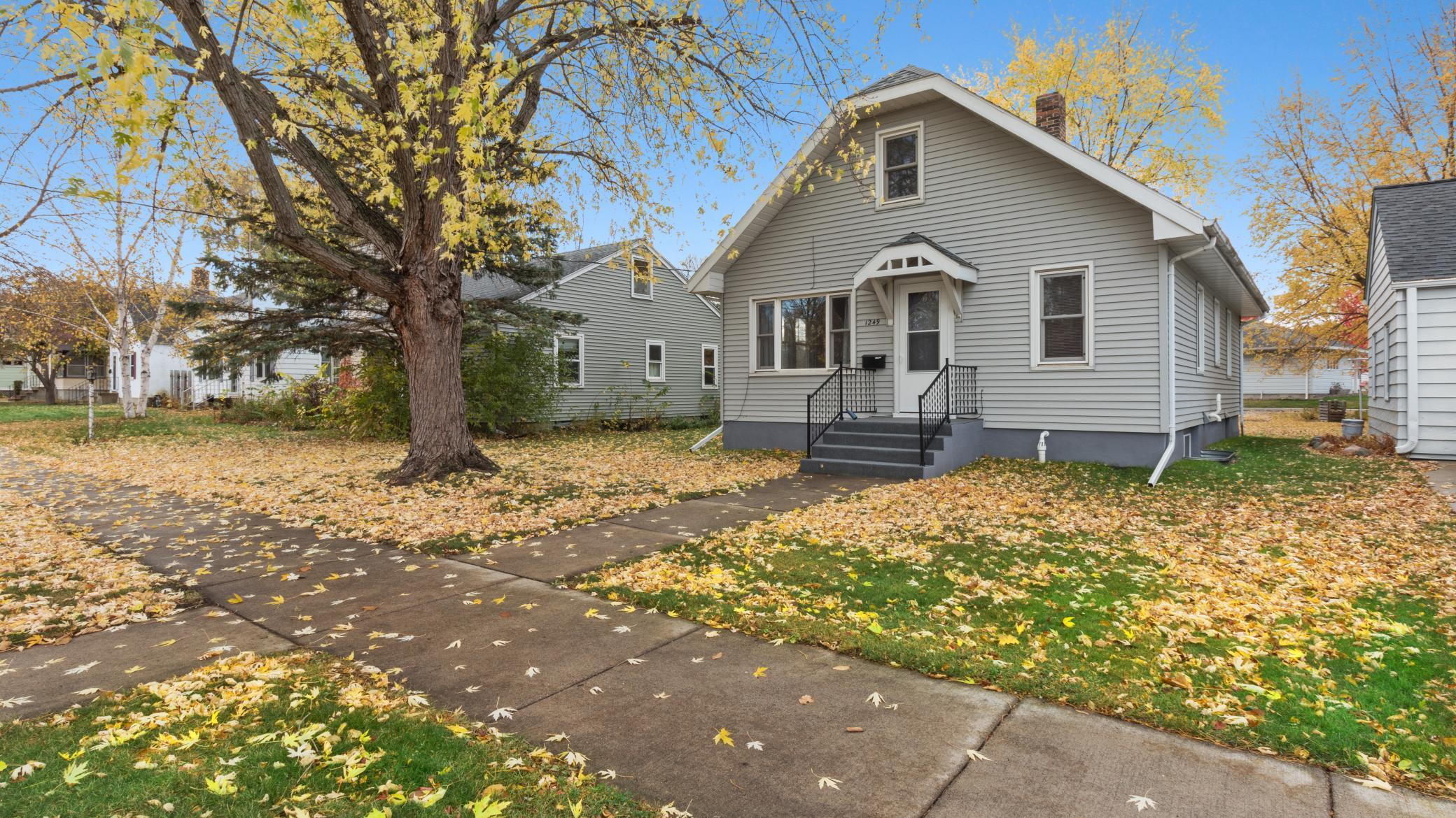 Adorable 5 bedroom, 3 bath home located in the St. Cloud Hospital neighborhood. Home has updated furnace, steel siding, new kitchen cabinet fronts and drawers. Stainless steel appliances, updated baths, and inside of home has just been painted. 10x12 storage shed.