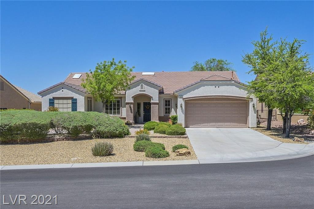 Meticulously cared for one owner home on elevated lot with sweeping Mountain View's. 2 master suites with attached baths. Coffered ceilings, bay windows & shutters throughout . Kitchen w/nook & stainless appliances that are 1 year old. New backsplash & quartz countertops. Great room with gas fieplace and new decorator tile surround . Mud room perfect for hobbies/crafts . Garage features tons of cabinets . Outdoor kitchen , covered patio & Koi pond are an entertainment delight ! Don't miss this fantastic home!