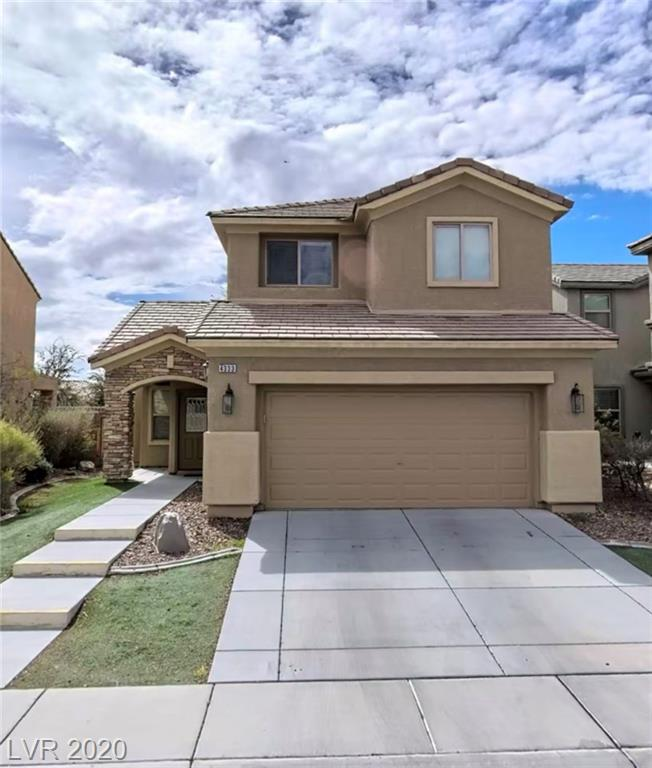 Perfect investment home! Tenant currently in place. Beautiful 2 story home featuring 3 bedrooms and 2.5 baths in Aliante. Submit your offer today!
