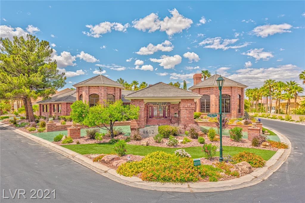 """Stately & elegant one-story brick home on double gated half acre+ at The Estates at Canyon Gate Country Club. Massive brick porte-cochere & 2700 SF, 18 car finished cooled garage, w/11+ ceilings & car wash. Textured & stained  circular driveway. Chef's gourmet kitchen.  Thermador Masterpiece glass induction 36"""" cooktop. Magnificent copper hood. NO-Touch Kohler faucet. 10 foot center Island, Walk-in pantry. Two WIFI smart LG InstaView door-in-door-knock-twice to see inside French fridges. Completely private fully enclosed courtyard w/ Koi pond & full bathroom. Large Pool sized back yard. Spectacular private office w/ Brazilian mahogany walls & huge 23ft vaulted ceiling Commercial whole home RO water filter system. Central vacuum. Massive, brick fireplace. 3 bedrooms & great room have oak wood flooring. Magnificent Travertine stone floors w/ mosaic accents thruout. 5 central a/c's & industrial cooling system Buyer/agent must verify all facts and measurements **PROOF OF FUNDS REQUIRED**"""