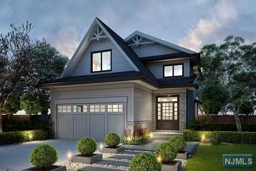 New construction, completion Dec 2019. Elegant design & finishes. Spacious open floor plan. 5 bedrooms, with 3.5 baths. The first floor includes an eat-in kitchen with custom cabinetry, high-end stainless steel appliances, white quartz counter tops and a center island with a sink. The Formal living room and Dining area have an open flow and the Family room with a gas fireplace is open to the kitchen and breakfast area with sliders to the backyard. on the first floor is also a mud room and a powder room. The Second floor includes a master suite with 2 walk-in closets with custom built cabinetry, and a luxurious bath with a huge shower, standalone tub, and two sinks. Additional 3 bedrooms, and a bathroom. The Laundry room is in the basement. All floors are 9' ceiling high. The Basement w/large rec, a BR, a FBTH & a wine cellar. Other features: hardwood floors, 2 car garage, sprinklers,patio pavers.