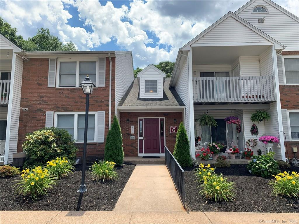 Freshly painted, second floor unit at Concorde Landing.  Two bedrooms and two full baths with laundry hookups in the unit!  Hot water heater was replaced in 2018.  Gas Heat and Central Air. The water and sewer fees are included in HOA's.  Nice, private balcony.  There is a storage locker in basement as well.