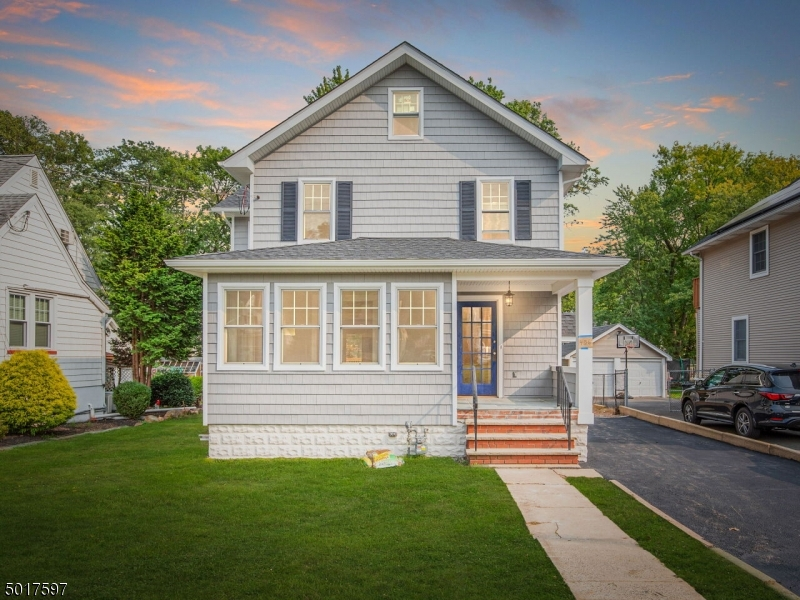 Just about completed! Tastefully renovated and expanded from top to bottom to include an open, inviting floor plan. So many unique details and attention to current, popular design choices make this a 1 of a kind home.  Spectacular  kitchen opens to family room and 16x14 deck overlooking a large, deep back yard  Center island, quartz countertops, ss appliances.  1st floor office with vaulted ceiling and surrounded by windows is a great place to  work from home .   Stunning En suite master bedroom with spa like bathroom.  New wood floors throughout most of the home except the bathrooms w/stylish tile.  Large tiled basement 2 sections 33x21 and 28x13