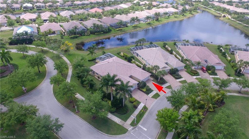 """Take a look at this beautiful Southern view  2 bedroom 2 bath Capri with pool and above ground spa.  New pool heater put in 6 months ago. Tile backsplash in kitchen and wood laminate in the great room.  VeronaWalk offers  24 hr guarded gated entry, lighted tennis, boccie ball, basketball and pickleball courts, resort-size community Lagoon pool, lap pool, children's play area, over 20 miles jogging/hiking trails, 24/7 fitness center. The Town Center features post office, café/restaurant, travel agency, hair salon, car wash, gas station, library, computer center, ballroom, card rooms, and a full-time activities director. VeronaWalk was awarded """"Community of the year"""" for the State of Florida in 2014."""