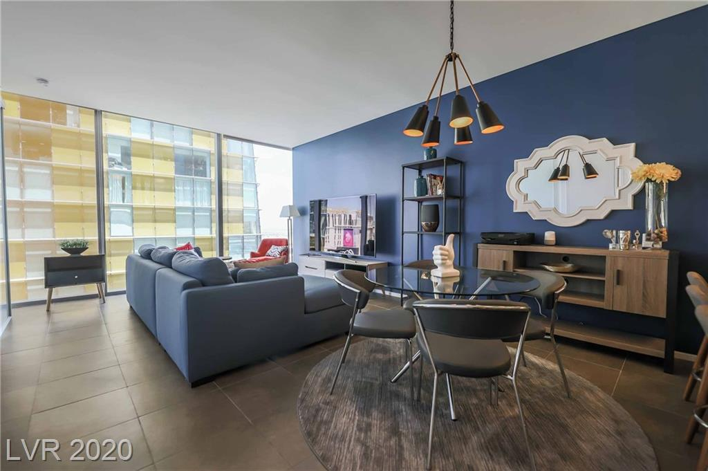 Most sought after floorplan available! Experience a high-end standard of living at Veer Towers located in the heart of the strip at City Center. Walk to world-class shopping, gaming and dining while being just minutes away from T-Mobile Arena & Allegiant Stadium. Enjoy strip views from this professionally designed and fully furnished 1-bedroom unit, complete with floor-to-ceiling windows, stainless steel appliances and a luxurious bathtub. Veer Towers offers superior amenities including a rooftop infinity edge pool & spa, state-of-the-art gym, media room, concierge, valet parking, and 24-hour security.