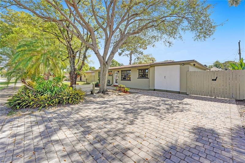 "Welcome Home in this Highly Sought after Neighborhood of Riverland Village. This 2 Bedroom, 2 Bathroom Home is Absolutely Move-in Ready. Open Concept Living is Perfect for Family Gatherings or Entertaining. Interact with Guests from The Beautifully Updated Kitchen or Enjoy Coffee at the Breakfast Bar. Tile and Wood Laminate Flooring Throughout Most of the Home. NEW ROOF Installed in 2020. Newer A/C. NEW PVC Pipes coupled with 4"" Cast Iron/Thick Walled Pipes. Garage Finished with Wall & Storage Organization System and Washer & Dryer. Home is Generator Ready. Large Paver Driveway. Fenced Yard with an Open Air Patio under a Well Sized Pergola. Plenty of Room for a Pool, Spa, Boat, or other Toys. Sprinkler System. NO HOA. Schedule a showing today. This home will not last."