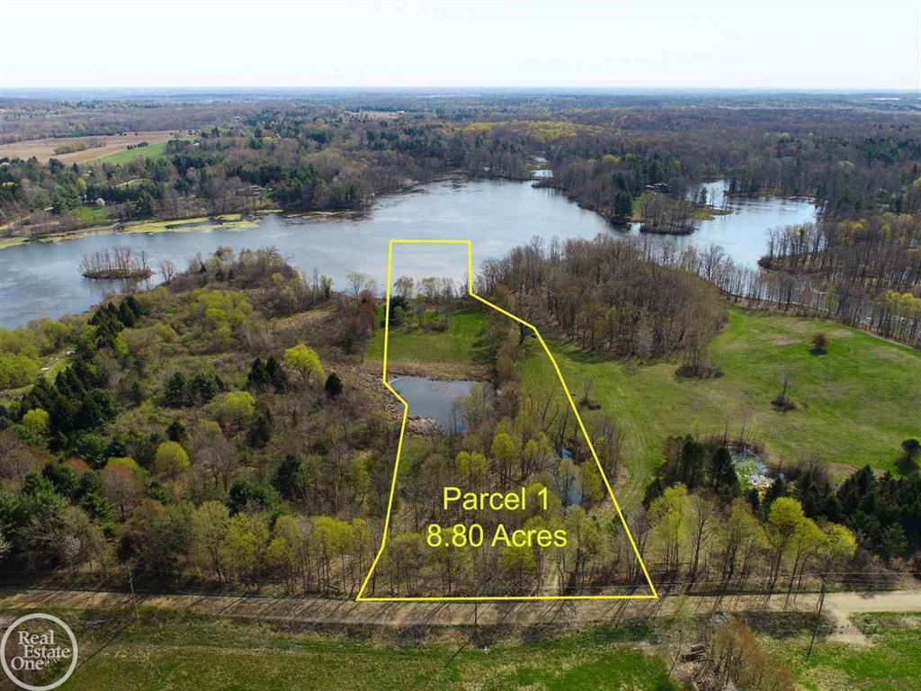 Awesome lakefront location with approximately 8.80 acres on Secord Lake with approximately 300' of lake frontage.  This is a great building site offering fantastic views of Lake Secord; other parcels are available for a total of 47 acres (all with frontage on Secord Lake).  Property will require a Well & Septic to be installed and features 4.2 buildable acres.  Property is located on the East side of Hagerman Road just South of McKail Road.