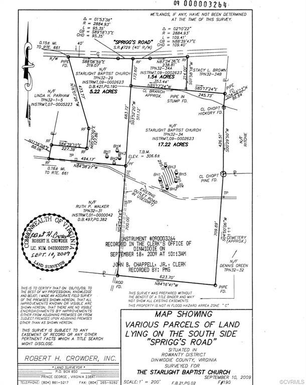 tbd Spriggs, Sutherland, VA 23841