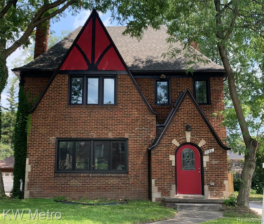 Tastefully renovated with high quality workmanship and finishes, this warm and welcoming University District Tudor is ready for you to move right in.  With four bedrooms and three full baths, there are options for two master suites...or great In-Law/Au pair quarters.  The open and airy main floor is ideal for entertaining. The white and bright kitchen with granite countertops opens to the large dining room.  An impressive marble-surround fireplace with large mantel accentuates the spacious living room.  The home also boasts a sizable first-floor laundry with ceramic flooring, as well as a ceramic tiled mud entry.  The huge main master bedroom has a walk-out to a private balcony along with a fabulous marble-tiled bathroom.  The reconfigured third floor houses another large bedroom with private en-suite bath.  Outside is a newly concreted driveway as well.