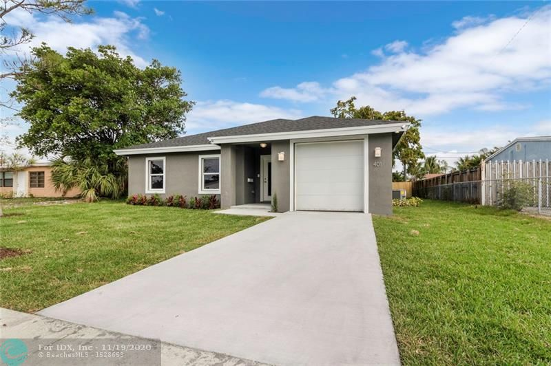Charming newly built single-family home! This home is located in the heart of Oakland Park. A great location close proximity to major highways access and excellent schools. This newly constructed home is a must see!