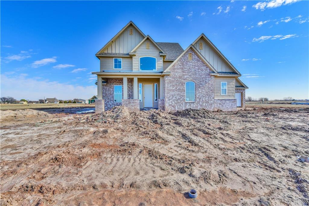 New constuction home in the beautiful community of Windstone (Glenridge). Located in the city of Norman just south of Indian Hills Rd but still located in the Moore school district. This 2 story home will feature a Study or Guest Bedroom off entry, a large Living Room with a corner Fireplace and vaulted ceilings open to the second floor. The large Master retreat is located on the first floor off the Kitchen. The second floor will feature 2 Bedrooms and 2 Full Bathrooms, a Flex Room with a large walk in closet that can act as a secondary Living Room, Game Room or as an additional Bedroom.