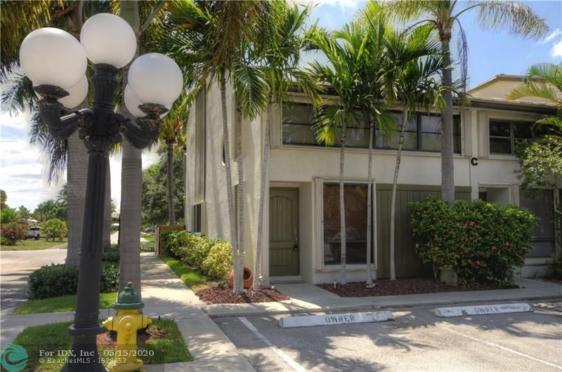 Rare on the Market! Substantially remodeled CORNER Unit! Bright and Airy Open Concept Floor Plan with no Expense Spared. Feel the Quality Workmanship as Soon as You Enter the Front Door! There is no Other Unit Like it in This 47 Unit Complex Nestled in a Residential Neighborhood Yet Only Two Miles to the Beach. This Ideal Location Provides the Best of All Worlds. Two Pets are Welcome. Heated Pool with a Cabana Area.  Association Maintains Reserves. New Fence Being Installed Around the Perimeter and Pool Area.  No Assessment!  Welcome to Your New Home.  Professional Pictures Coming Soon.