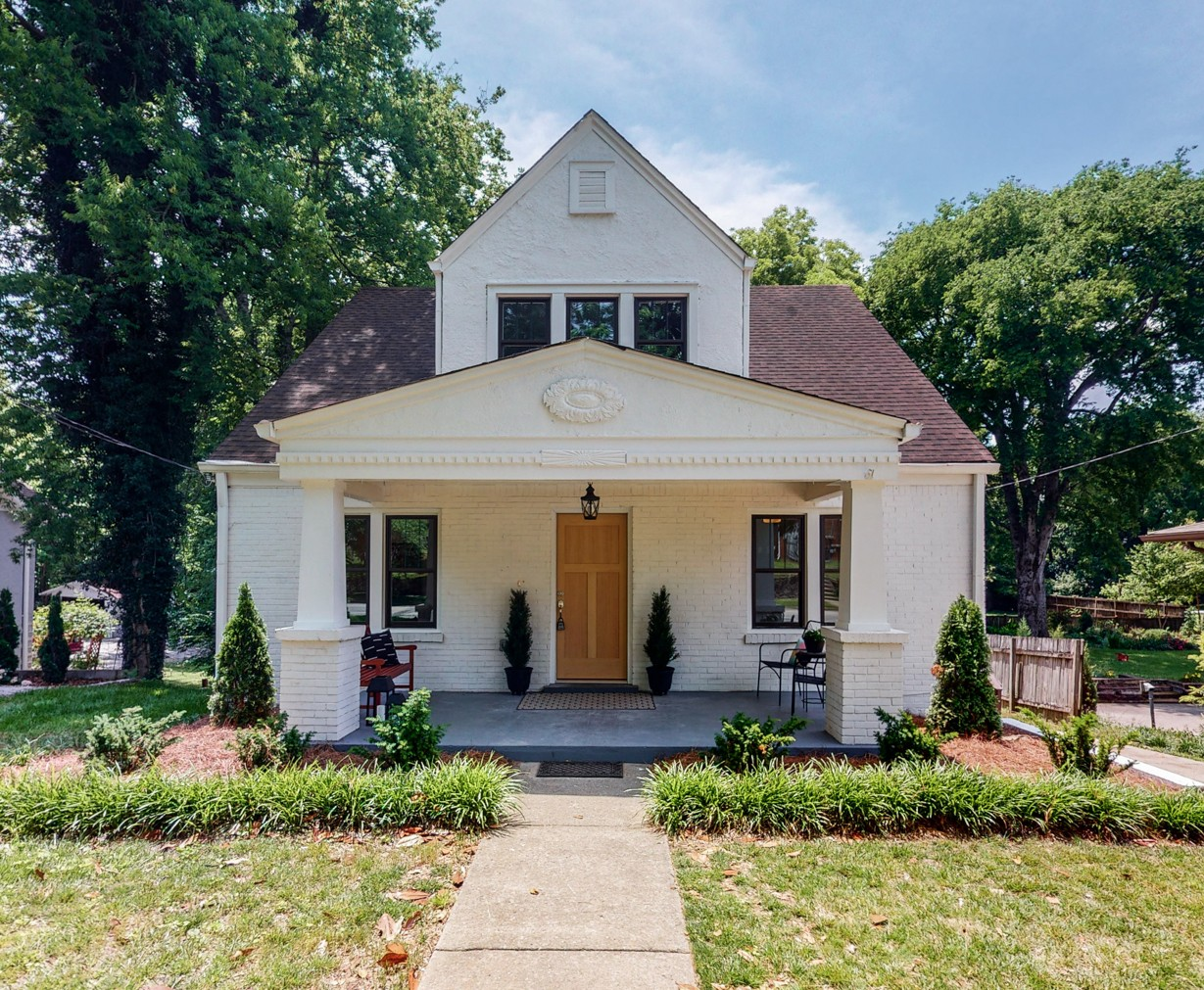 This 1925 Craftsman has been fully renovated to restore its charm. The 4 Bed/3 Bath home has abundant natural light & an open concept. The original hardwoods have been refinished to capture the elegance of the almost 100 year old home. The oversized Sylvan Park lot is prepped with utilities behind the creek to allow for the building of a Pool/Pool House or DADU. This feature is unique to this property & allows you to create an oasis in your backyard.