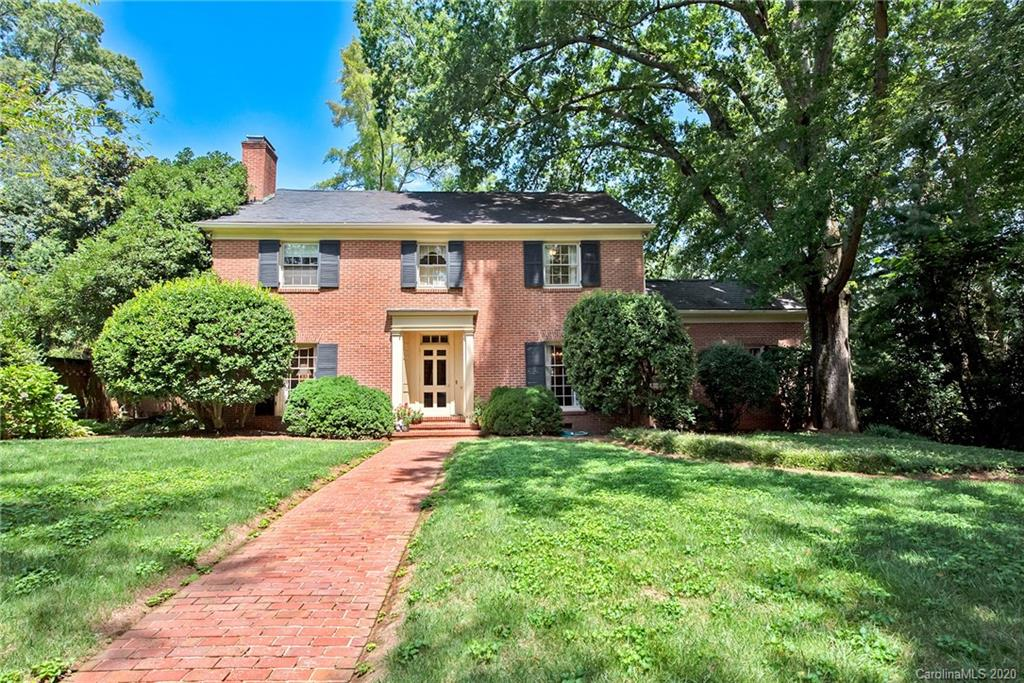 One owner Classic Eastover home available for the first time in over 65 years. Beautifully maintained, it features a gracious foyer, formal rooms & high ceilings throughout. The eat-in kitchen opens to the paneled family room. Large windows look upon an unusually deep and beautifully maintained backyard that features several lush vignettes for entertaining & enjoyment. Landscaping includes 2 brick patio areas & mature plantings that offer varied seasonal color. The Master bedroom with private bath is located upstairs w/3 additional bedrooms. There is a hall half bath as well as an additional full bath on this level. The basement has full ceiling height and the ability to finish off for additional rec room space. Currently it has plumbing for half bath, workshop and is used for storage. Access to the home from 2 car garage is through the basement.