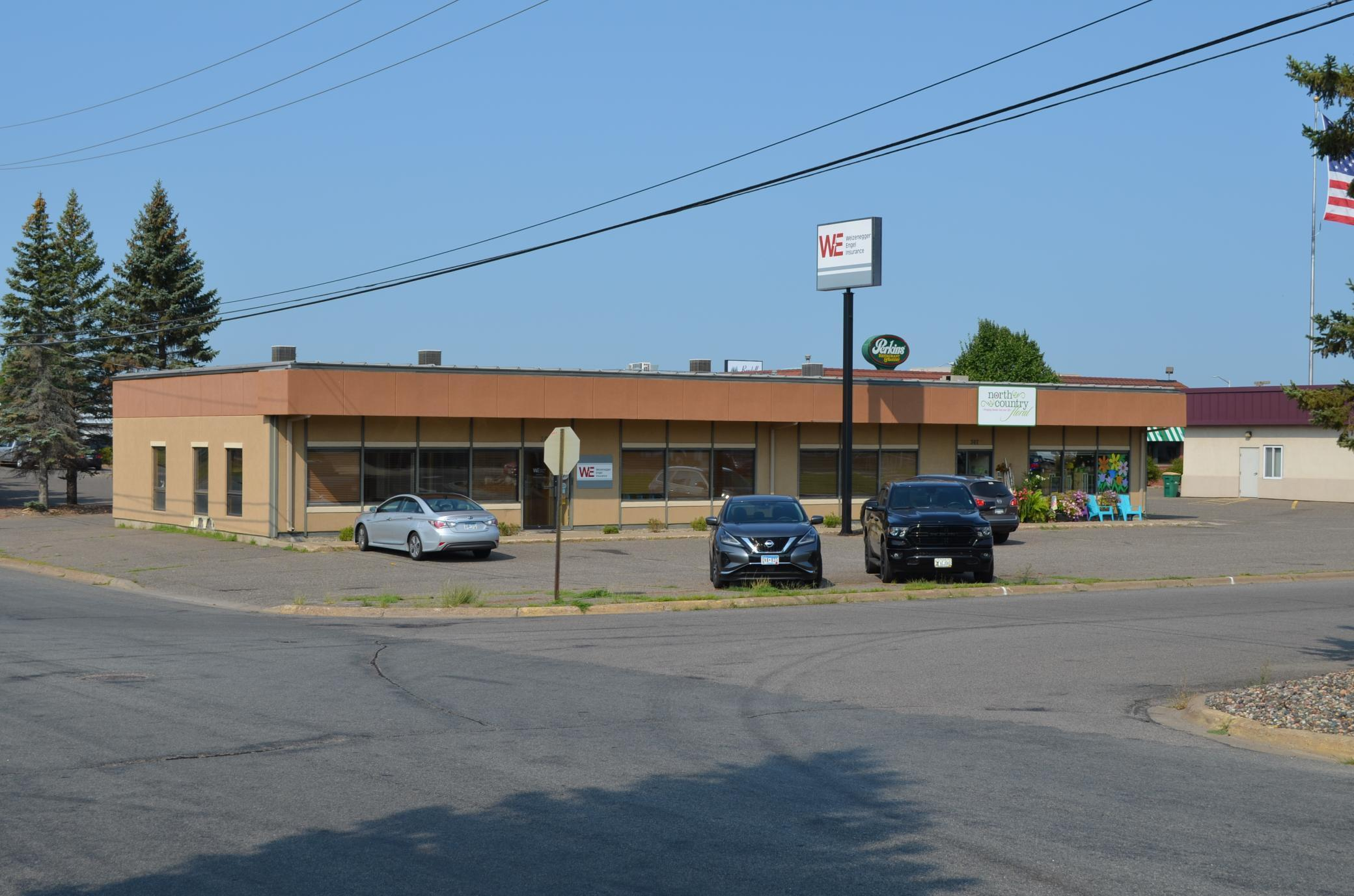 Excellent opportunity to move or expand into turn-key office space located just off the busy Hwy 210 / Washington Street corridor in Brainerd. Purchase or lease the 2,550 sq. ft. of available space neighboring the 1,450 sq. ft. occupied by North County Floral. Enjoy easy access and high traffic counts at the corner of 6th Street NW and Charles Street, across from McDonalds.