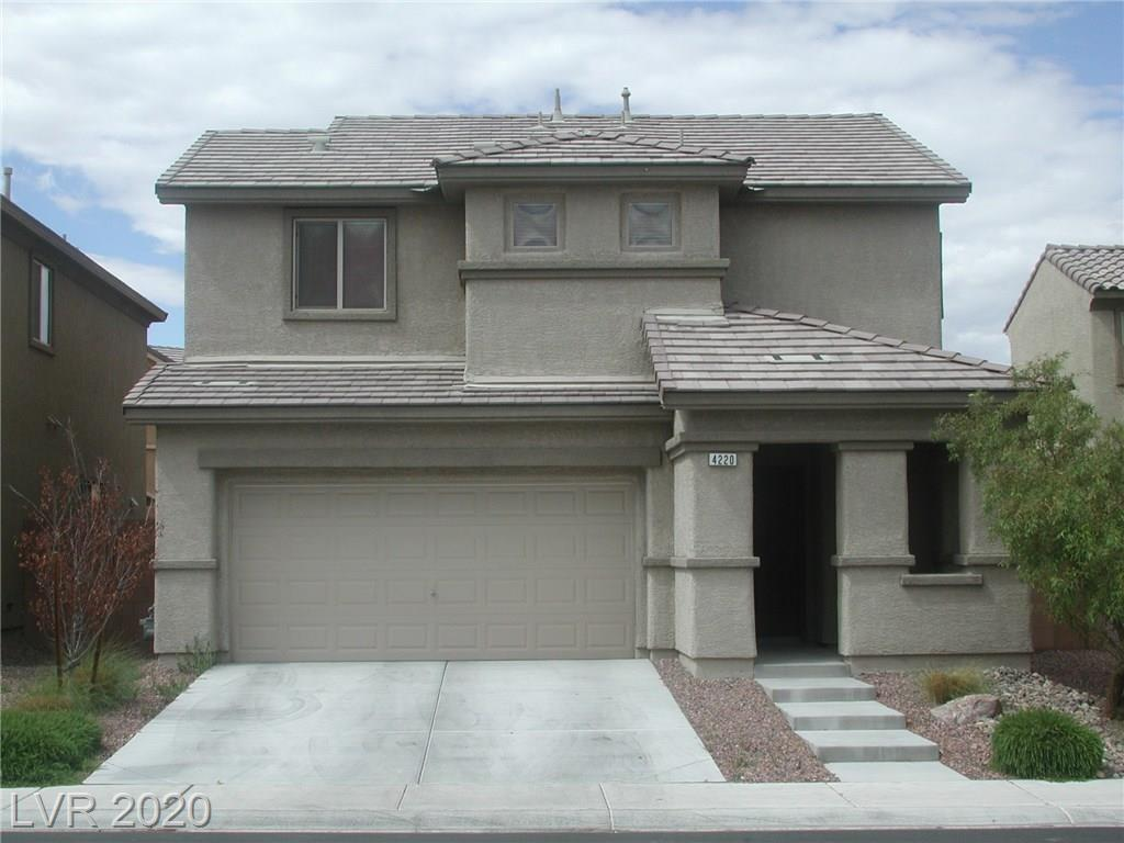 Great Aliante home for rent. Open floorplan in kitchen & livingroom. New carpet and paint. Granite countertops, stainless steel appliances. Master bedroom has separate sitting room & extra large walk in closet. Master bathroom is also extra large.