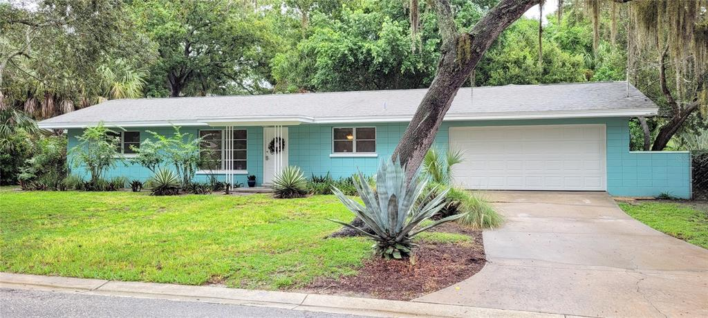 """Super Clean, Move In Ready 2 Bedroom, 2 Bathroom, 2 Car Garage Home """"West of the Trail"""" in Sarasota's Museum Area!  Just around the corner from Bay Haven School of Basics Plus, a Historic """"A"""" Rated K-5.  This Home Features:  Terrazzo Floors, Large Florida Room with Pocket Sliding Glass Doors from the Bedroom & Living Room, Inside Laundry Room, Kitchen with Stainless Steal Appliances, Fenced Yard and Block Construction."""