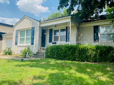 CHARMING, TIMELESS...Nichols Hills Cottage. EXPANSIVE, TREED LOT with views of Oklahoma City Golf Club Course. Walk or ride your golf cart to the Shack. Soak up the sights and sounds on the front porch with friends. Original oak wood floors throughout. Lofty Pine ceilings and Dutch door leading from kitchen to outdoor space. 3 generously sized bedrooms. Endless potential for adding more space if needed. Kitchen has stainless appliances including gas range and granite counters. The shed in the back has been wired. Previous owners used it as office space/workout space. It could easily be a guest house with renovations. This HAPPY HOME has the convenience of living CLOSE TO EVERYTHING Nichols Hills/OKC has to offer. Make it EXCEPTIONAL with just a few customizations. Welcome HOME!
